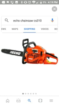 "Echo chainsaw18""  Tampa, 33609"