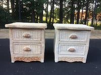 Pier 1 Set Of 2 Wicker Nightstands  Woodbridge, 22192