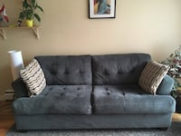 Grey Couch from Palluci Furniture - Female owned Vancouver, V5T 2A3