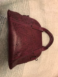 Black Rivet Purple Bowling Style Handbag Centreville, 20120