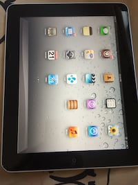 Black ipad with black case Edmonton, T5W 0M7