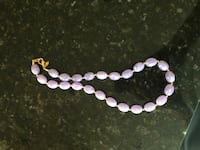 white and purple beaded bracelet West Melbourne, 32904
