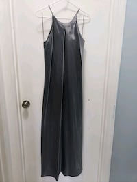 Long Silver Formal Dress Size 11/12 Cape Coral, 33904