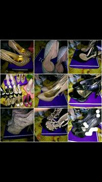 women's assorted shoes collage Alamo, 78516