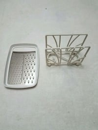 Metal napkin holder with cheese grater Forest Hill, 21050