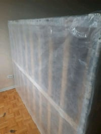 Family size box with mattresses  Montreal, H1M 2W4