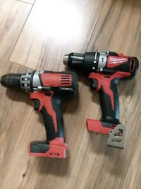 Milwaukee hammer drill driver and Milwaukee drill driver