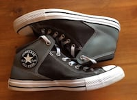 pair of black Converse All Star high top sneakers Mississauga, L5V 2V1