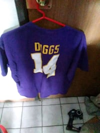 purple and white DIggs 14 jersey St. Cloud, 56301