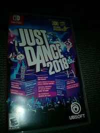 Just dance 2018 (nintendi switch) Lorton, 22079
