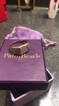 purple and silver ring in box Midlothian, 23113