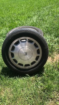 gray 5-spoke car wheel with tire Winchester, 22602