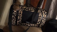 cheetah print small pet carrier  Ottawa, K1Z 8E7