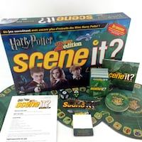 Harry Potter Scene It 2nd Edition French Version DVD Trivia Board Game Complete Port Colborne