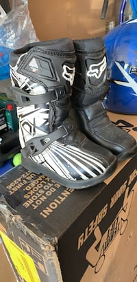 fox comp 5k youth atv boots size  k11  New Windsor, 12553