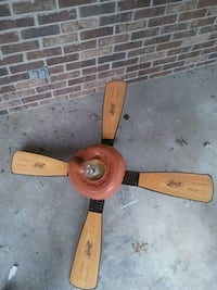 brown wooden 5-blade ceiling fan 547 mi