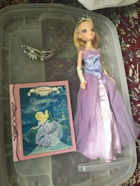 Storytime Collection Cinderella doll & storybook