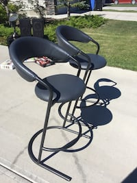 black and gray swivel chair Calgary, T3K