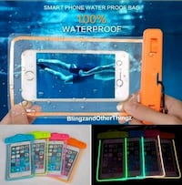 Luminous waterproof phone case  Brantford, N3T 1J3