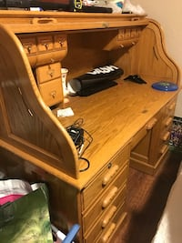 Solid oak desk Oakdale, 95361
