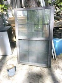 stainless steel framed glass display cabinet Foley, 36535