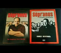 1st & 2nd seasons of the Sopranos on DVD Omaha, 68134