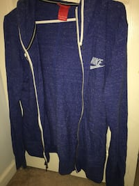 Mens Blue Nike Zip-Up Burnaby
