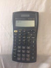 black Texas Instruments TI-83 Plus calculator Eagan, 55122