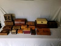 Small Trinket/Jewelry/Storage Boxes  Lot Of 17 Lindsay, 93247
