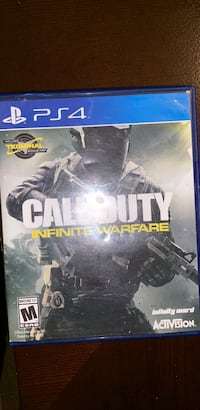 Sony ps4 call of duty infinite warfare game Manassas, 20111