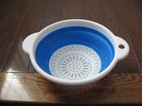 Collapsible Colander Drainer Silicone Strainer Toronto