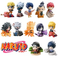 Naruto set 12 mini action figure NUOVE Roma, 00192