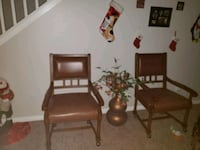 2 rolling chairs and flower plant North Las Vegas, 89081