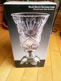 Nicole Electric Hurricane Lamp - Unopened Centreville, 20120