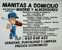MANITAS A DOMICILIO Madrid, 28041