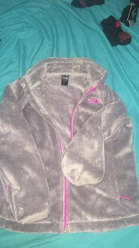 gray and hot pink northface Lubbock, 79407