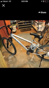 Electric powered bicycle  252 mi
