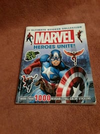 MARVEL ultimate sticker collection Killeen, 76543