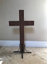Wood Tabletop Cross