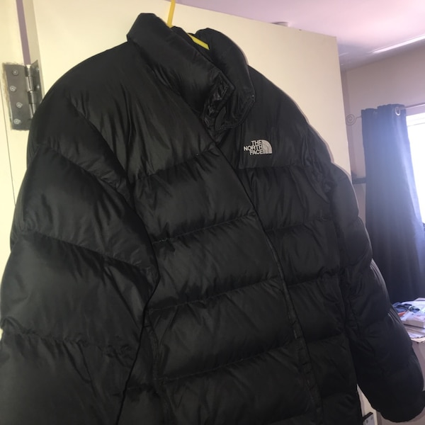 aa1ae147957a Used Black the north face bubble jacket for sale in Bromley - letgo