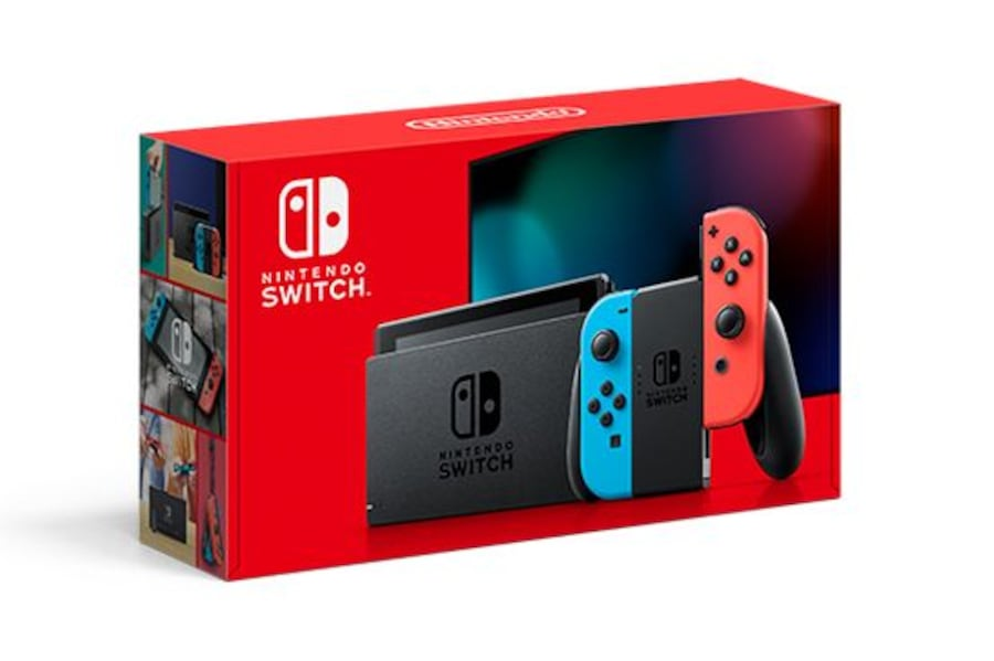 Nintendo Switch New and sealed Grey and Neon f4885947-9db1-4d64-8a4b-4deb0bd53730