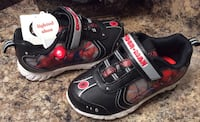 Spiderman black, red, silver, & white toddler's runners- lights up and brand new with tag Calgary, T2J