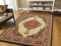 New Black Persian Area rug Traditional 8x11 Baltimore, 21229