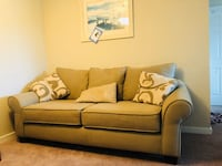 brown fabric 2-seat sofa Ashburn, 20147