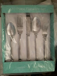 Stainless steel cutlery set 4 person Toronto, M2R 2N1