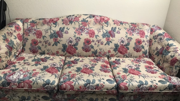 Outstanding White Red And Green Floral Sofa Gamerscity Chair Design For Home Gamerscityorg