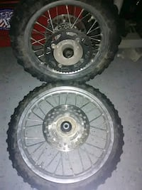 Tires and rims off kx65 Henderson, 89074