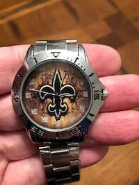 Brand New Stainless Steel New Orleans Saints Watch  Hanover, 21076