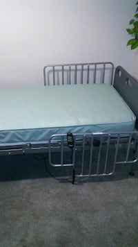 black and gray metal bed frame Lexington, 40508