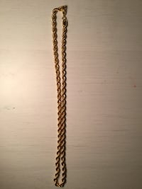 Replica Gold rope chain Surrey, V3R 1A3
